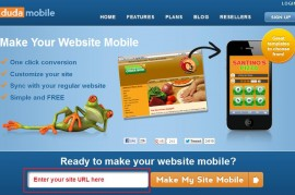Thumbnail image for Use our Website Builder & DudaMobile to Create a Mobile Website