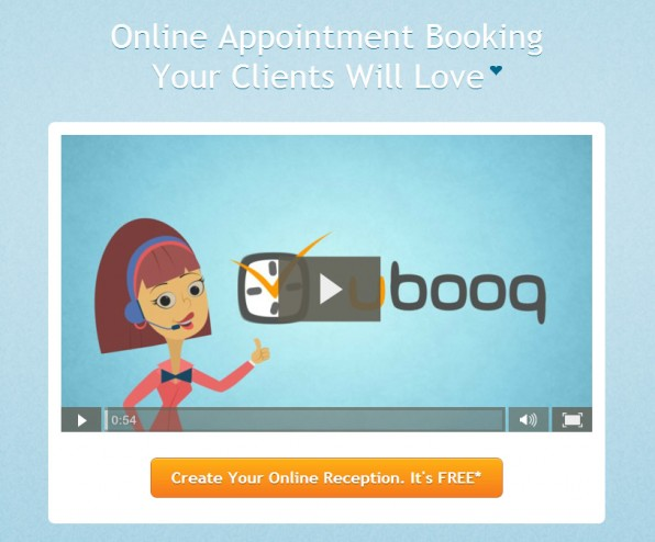 Online appointment booking